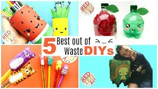 Best Out Of Waste - Eco DIYs - Upcycling Ideas & Projects
