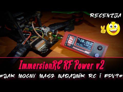 Recenzja: ImmersionRC RF Power Meter v2 - niezbędny miernik w FPV?