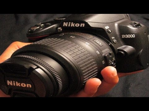 Nikon D3000 DSLR Camera Review and Test!