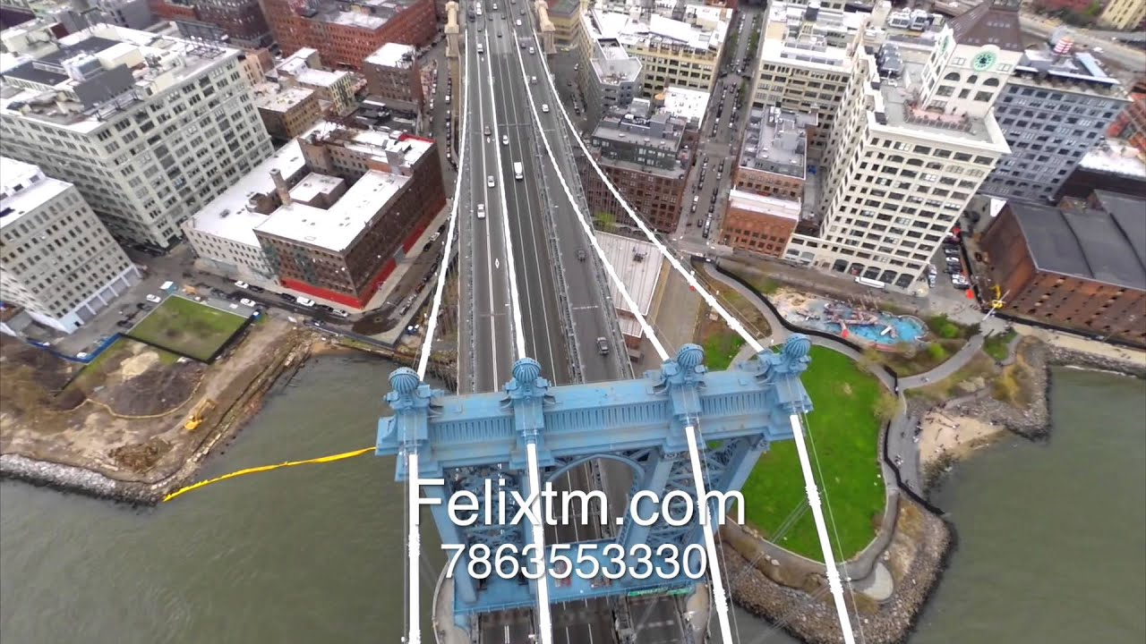 Aerial video compilation