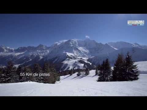 Présentation du domaine skiable des Houches