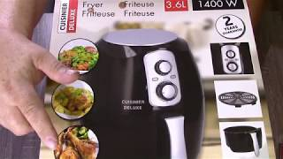 Heißluft Friteuse  Cuisinier Deluxe