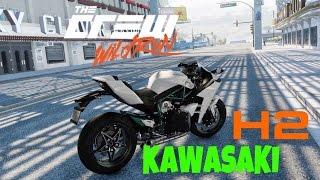 The Crew MOTOVLOG #15 Rolê de Kawasaki H2 SÓ O CANO!