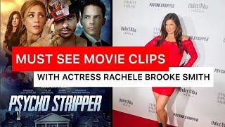 "New Movie ""Psycho Stripper"" - Actress Rachele Brooke Scenes & Motivational Speech (Lifetime Movie)"