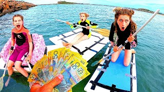 FASTEST BOAT WINS $1000 | Kids Version w/ The Norris Nuts