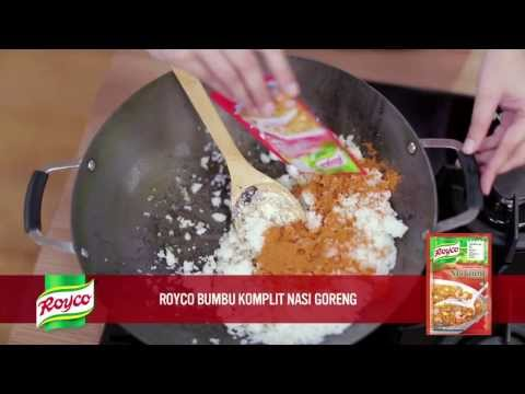 Video Resep Royco - Nasi Goreng Cumi Hitam
