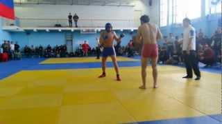 Хасанов Рустам...финальный бой боевое самбо..