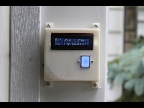 Build Your Own Fingerprint Scanning Garage Door Opener