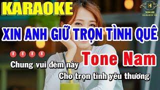 karaoke-xin-anh-giu-tron-tinh-que-tone-nam-nhac-song-trong-hieu