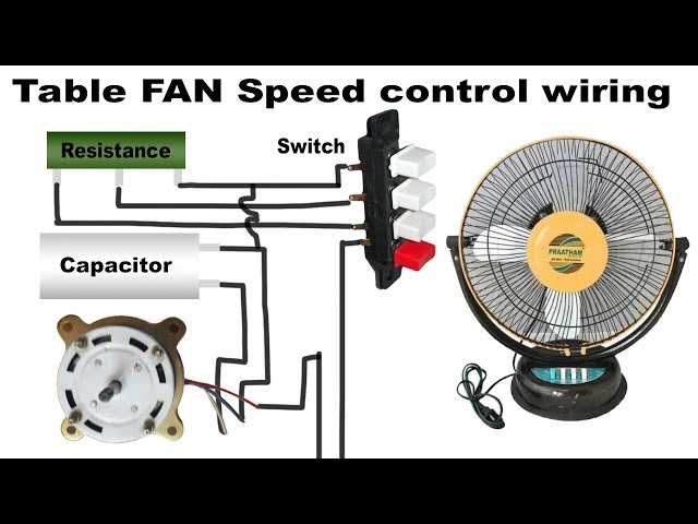 table fan speed control wiring  create custom youtube