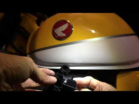 Monkey turn signal relay removal/install