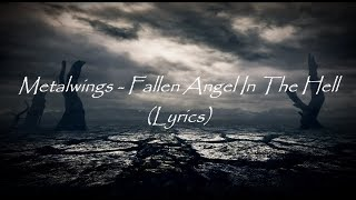 METALWINGS - Fallen Angel in the Hell (OFFICIAL TRACK)