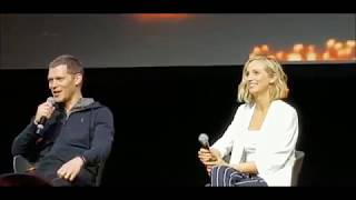 Joseph Morgan And Candice King Klaroline Bloodynightcon Europe