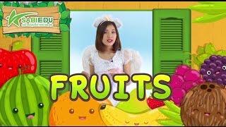 Bé học Tiếng Anh về TRÁI CÂY qua thẻ tiếng anh MA THUẬT - Magic English Flashcard Fruits