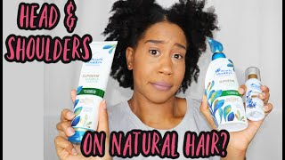 Head & Shoulders Supreme Review | Drug Store Hair Products for Natural Hair | Gabrielle Ishell