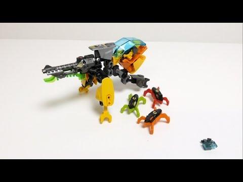 Vidéo LEGO Hero Factory 44015 : Evo robot