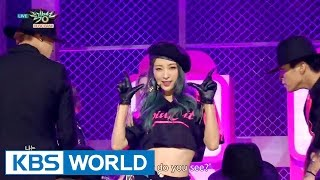 EXID - HOT PINK [Music Bank HOT Stage / 2015.12.11]