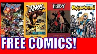 Free Marvel & Dark Horse Comics During Quarantine!
