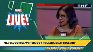 Marvel Comics Writer Jody Houser Live at SDCC 2018