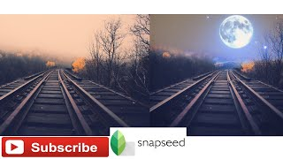 How to merge two images into one | Snapseed Tutorial