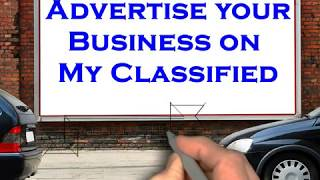Advertise your Business on My Classified