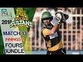 watch Multan SultansFours   Multan Sultans Vs Quetta Gladiators   Match 13   3rd March   HBL PSL 2018