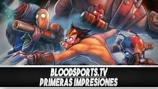 preview picture of video 'Danteplays | Bloodsports.tv - primeras impresiones nuevo moba coop'