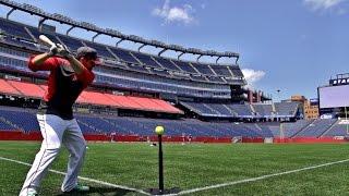 Gillette Stadium Trick Shots | Dude Perfect