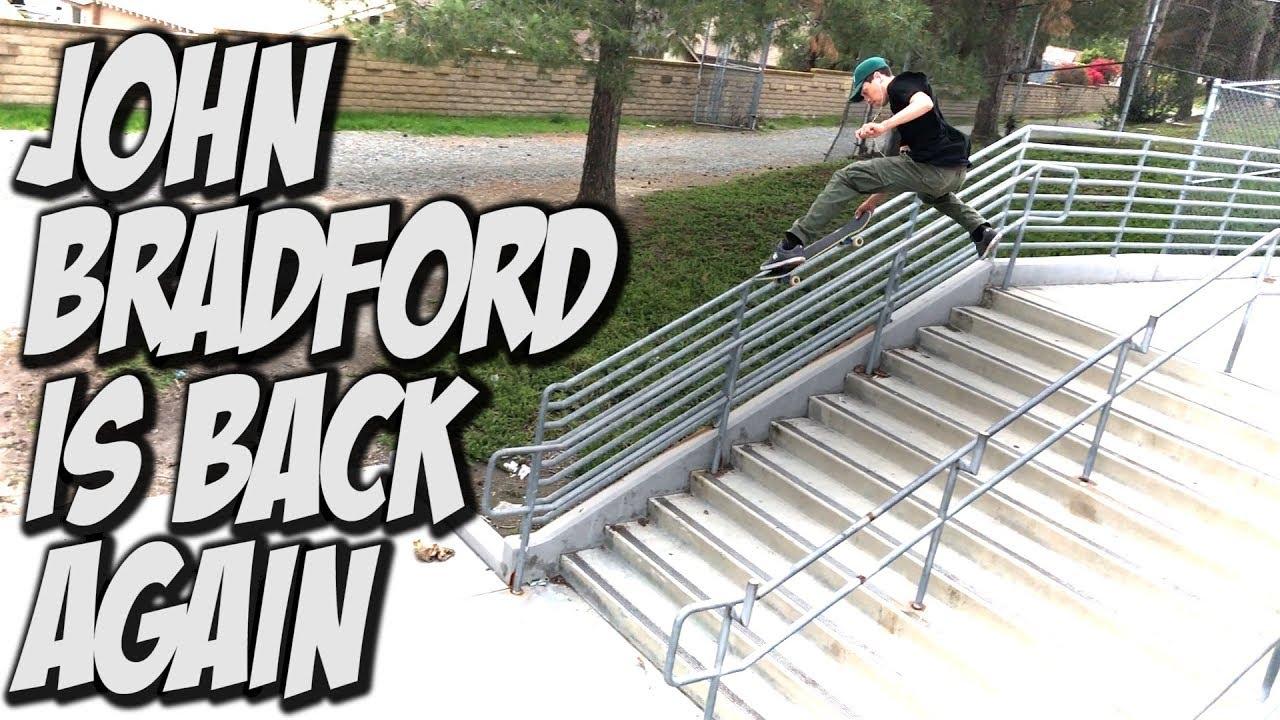 JOHN BRADFORD IS BACK !!! - NKA VIDS - - Nka Vids Skateboarding