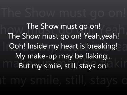 The Show Must Go On-Queen Lyrics (HD) Mp3