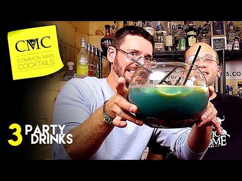 Video 3 Great College Party Drinks ???? Big College Punch Style Drinks