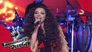 Anahit Hakobyan sings 'Կորուստ, թե գանձ' - Knockout – The Voice of Armenia – Season 4
