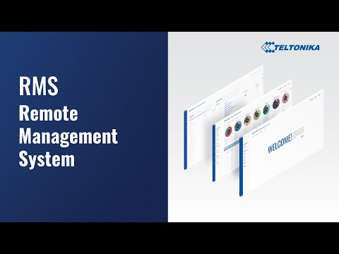 Teltonika Remote management System RMS
