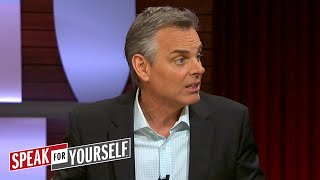 Cowherd and Whitlock discuss LeBron's statements about the NCAA | SPEAK FOR YOURSELF