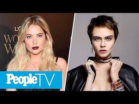 Ashley Benson Won't Confirm Or Deny Relationship Status Amid Cara Delevingne Rumors | PeopleTV