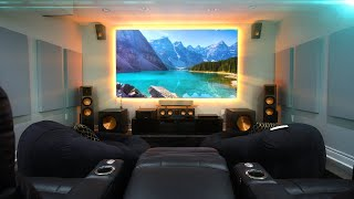 My NEW 4K Home Theater Setup! (2019)