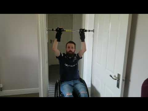 Pull-Ups | Disability Gym Workouts From Home