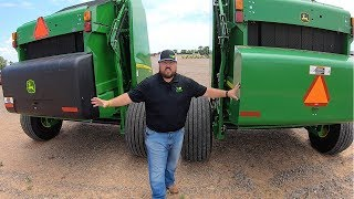 Differences between the John Deere 569 and 560M Round Balers