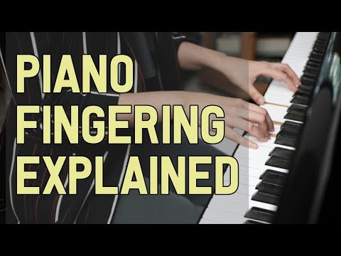 Piano Fingering Explained: How to Finger Piano Pieces - a Tutorial and Example