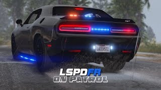 LSPDFR - Day 427 - Dodge Challenger Hellcat Police Car
