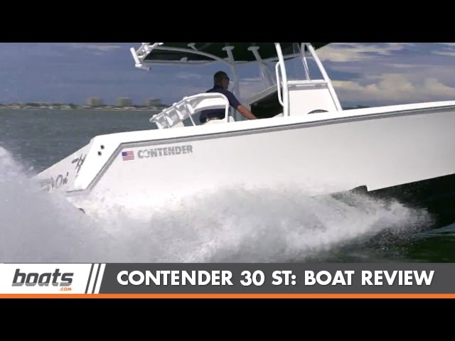 Contender 30 ST:  Boat Review / Performance Test