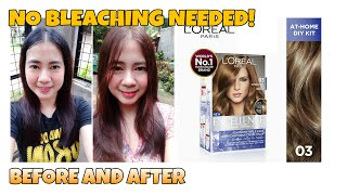 LOREAL EXCELLENCE 03 ULTRA LIGHT ASH BROWN | NO BLEACH NEEDED