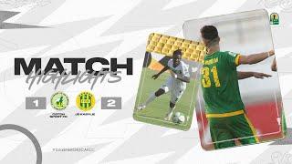 CAF CC | Demi finale aller : Coton Sport FC 1 – 2 JS Kabylie