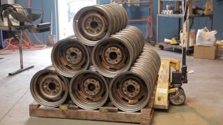 Inside Look: How Steel Wheels Are Made at Wheel Vintiques