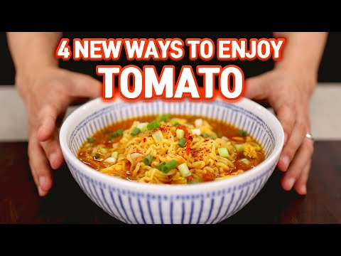 Do Not Throw Away Old Tomatoes! - 4 Delicious Recipes
