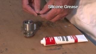 CRC Silicone Grease - Plastic & Rubber Lubricant