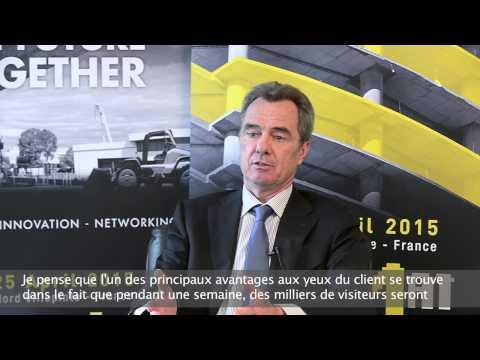 Ils préparent INTERMAT Paris 2015 - KOMATSU