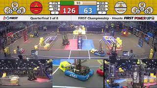Quarterfinal 3 - 2018 FIRST Championship - Houston - Turing Subdivision