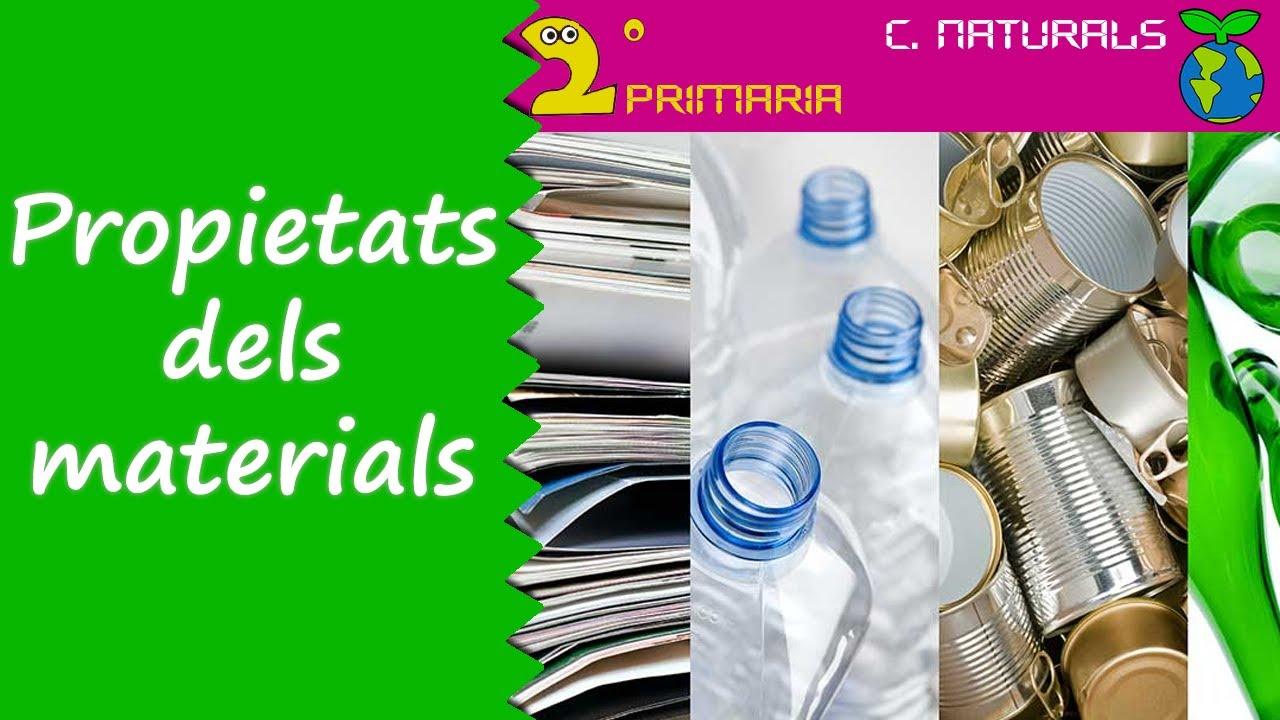 Ciències de la Naturalesa. 2n Primària. Tema 6. Les propietats dels materials