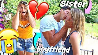 Dating My Girlfriends SISTER Behind Her Back *WE KISSED*